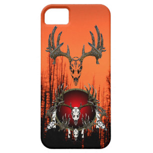 Deer Skulls Case For The iPhone 5