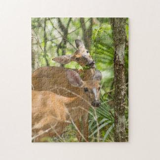 Deer Snack Jigsaw Puzzle