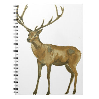 Deer Spiral Note Book