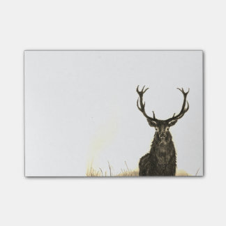"""Deer Stag Wildlife Sticky Notes 4"""" x 6"""""""