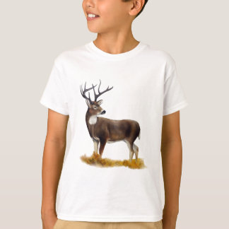Deer standing alone on customizable products T-Shirt