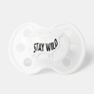 Deer - Stay wild Pacifier