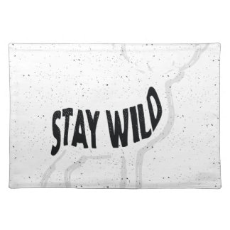 Deer - Stay wild Placemat