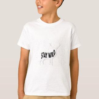 Deer - Stay wild T-Shirt