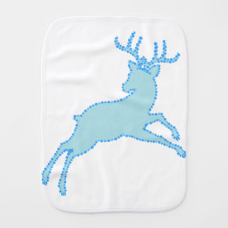 deer stencil 2.2.7 burp cloth