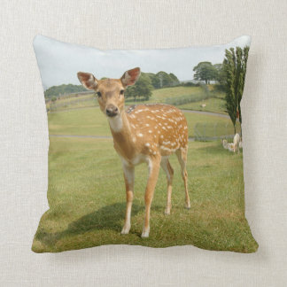 Deer - Summer Throw Pillow