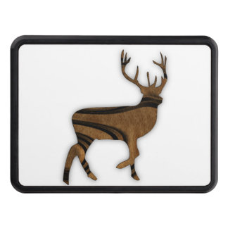 Deer Trailer Hitch Cover