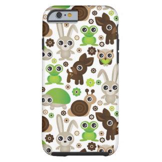 deer turtle bunny animal wallpaper tough iPhone 6 case