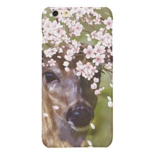 Deer Under Cherry Tree