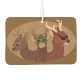 Deer Wearing Sunglasses Air Freshener