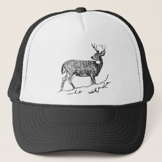 Deer / White -Tailed / Odocolileus virginian calvi Trucker Hat