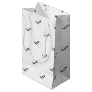 Deer - Wild and free Small Gift Bag
