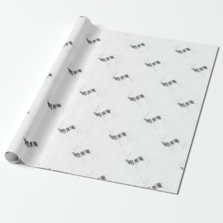 Deer - Wild and free Wrapping Paper