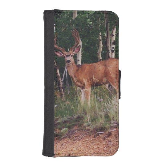 Deer Wildlife iPhone Case iPhone 5 Wallets