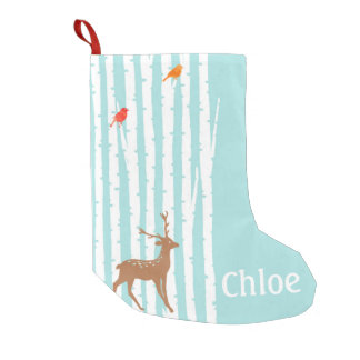 Deer Winter Wonderland Stocking