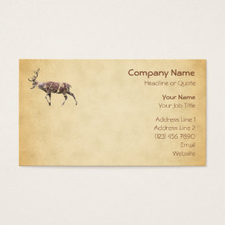 Deer with a Grungy Look Business Card