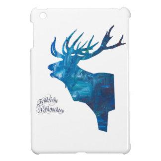 Deer with merry Christmas iPad Mini Case