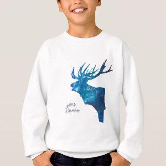 Deer with merry Christmas Sweatshirt