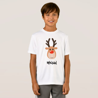 Deer with name Boy's T-Shirts