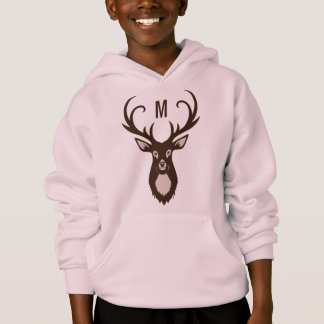 Deer with Your Monogram custom shirts & jackets