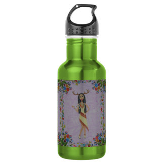 Deer Woman (Fairy Tale Fashion Series #5) 532 Ml Water Bottle