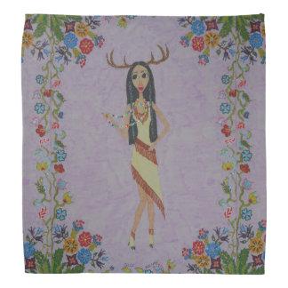 Deer Woman (Fairy Tale Fashion Series #5) Bandana