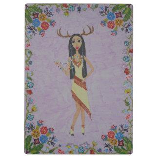Deer Woman (Fairy Tale Fashion Series #5) Clipboard