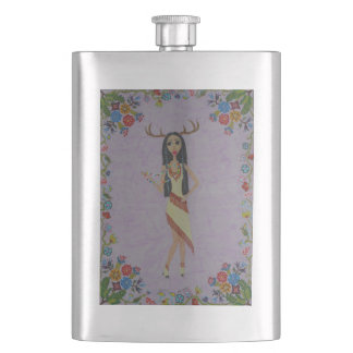 Deer Woman (Fairy Tale Fashion Series #5) Flask