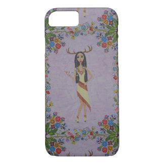 Deer Woman (Fairy Tale Fashion Series #5) iPhone 8/7 Case