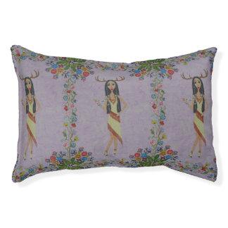 Deer Woman (Fairy Tale Fashion Series #5) Pet Bed
