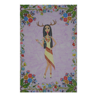 Deer Woman (Fairy Tale Fashion Series #5) Stationery