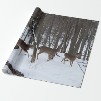 "Deer Wrapping Paper, 30"" x 6'"
