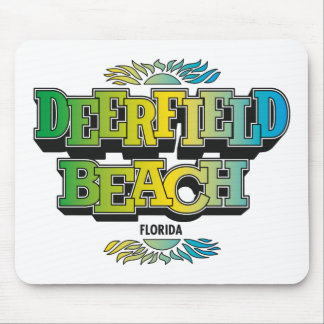 Deerfield Beach 1970's Mouse Pad