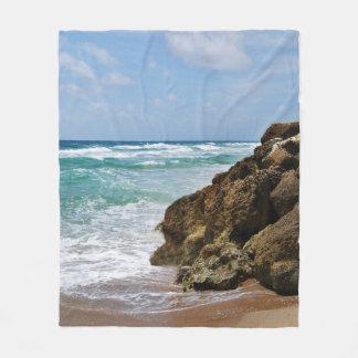 Deerfield Beach Fleece Blanket