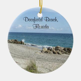 Deerfield Beach Florida Ornament