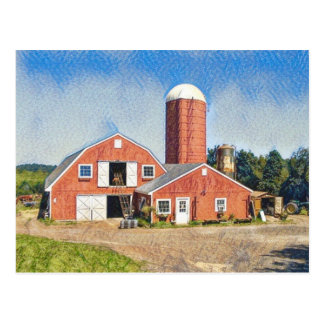 Deerfield Farm Postcard