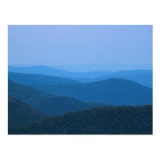 Deerfield River from East Mountain Berkshires Postcard