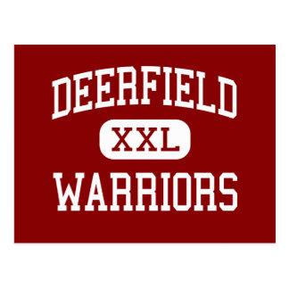 Deerfield - Warriors - High - Deerfield Illinois Postcard