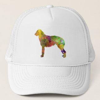 Deerhound 01 in watercolor-2 trucker hat