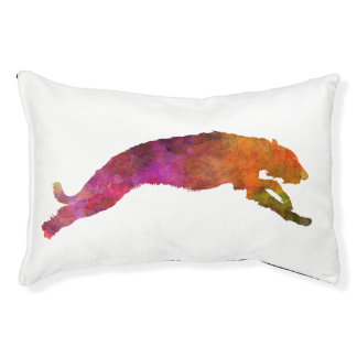 Deerhound 02 in watercolor-2 pet bed