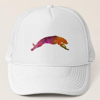 Deerhound 02 in watercolor-2 trucker hat