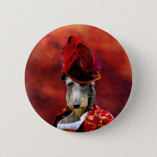 Deerhound Button Nobility Dogs Gift