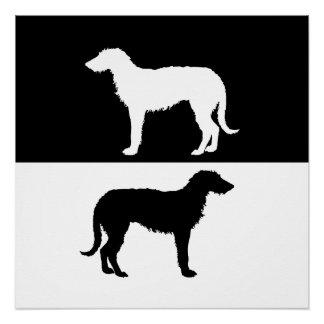 deerhound perfect poster