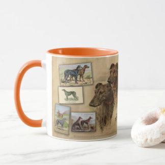 Deerhound Vintage Mug