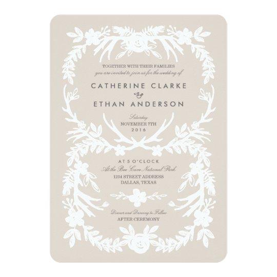 Deerly Beloved Wedding Invitations