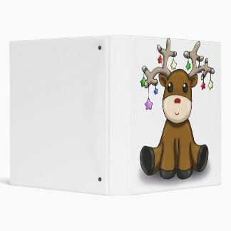 Deers 3 Ring Binder
