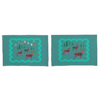 Deers in the Forest Pillowcase
