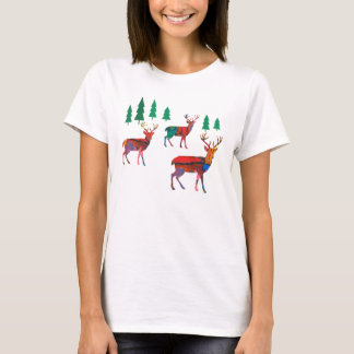 Deers in the Forest T-Shirt