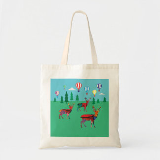 Deers in the Forest Tote Bag