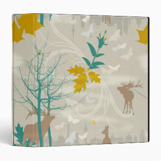 Deer's Life 3 Ring Binder